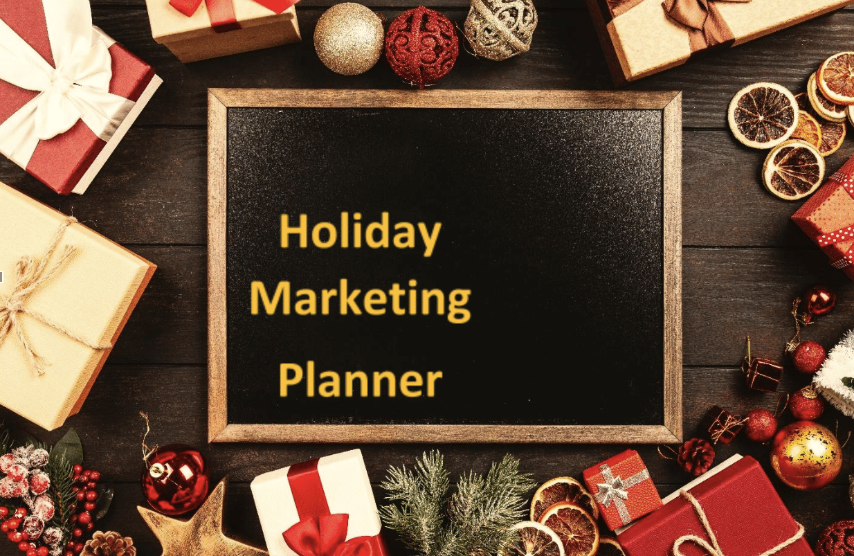 Holiday marketing planner worksheet